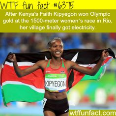 Faith Kipyegon - WTF fun facts                                                                                                                                                     More