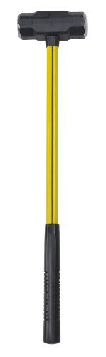 NUPLA BD-8-18SG Blacksmiths Double Face Sledge Hammer with Classic Nuplaglas Handle and SG Long Grip, 18-Inch Handle Length