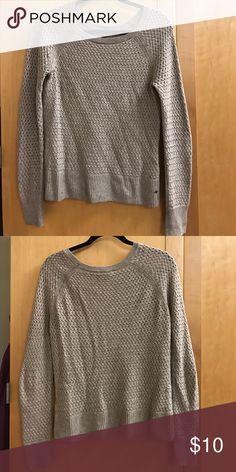 American Eagle Oatmeal Sweater Small oatmeal basic sweater American Eagle Outfitters Tops