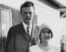 Anne and Charles Lindbergh the year they were married, 1929