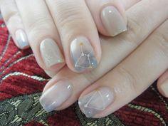 52 Stunning Nail Art Trend Ideas for Beautiful Nail Art, Gorgeous Nails, Cute Nails, Pretty Nails, Korean Nail Art, Korean Nails, Gem Nails, Gel Nail Designs, Nails Design