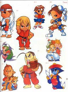 Pocket fighters