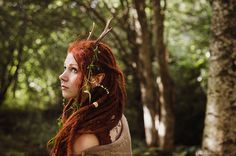 Keeper of the Forest (by Rania Maria Photography) I don't know what I love more- her nose ring or her dreads. Either way- this pic is awesome