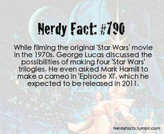 Star Wars Nerd Fact