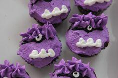 Purple Minion Cupcakes