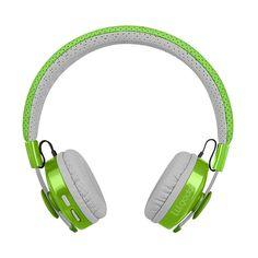 df83cb0522b LilGadgets Untangled Pro Premium Kids Wireless Bluetooth Headphones with  SharePort - Green