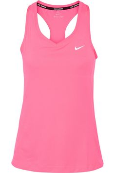 Bright-pink stretch-jersey Slips on 100% recycled polyester Machine wash Designer color: Hyper Pink/ Reflective Silver