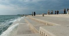 """Located on the shore of the Adriatic Sea, this is a real-life """"sea organ"""" that uses wave action to generate eerie sounds."""