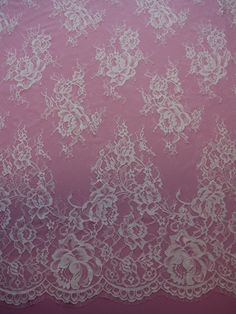 An eye catching raschel lace. This lace has matched scalloped and fringed edges and measures 148cms/58 wide. We also stock this design in Ivory.  LISTING IS FOR 1 YARD! WE CAN GET AS MANY YARDS AS YOU NEED! We are the go to source for designers and dressmakers looking to add a unique touch to their stunning creations. With bridal and event fashion always changing, it can be a challenge creating a look that is uniquely you. Our lace, fabric, trims and appliqués are embroidered into intric...