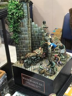 The Modelling News: Charlie finishes his tour of the Shizuoka Hobby Show with some fine figure, Land, Sea & Air models Hall Mirrors, The Modelling News, D Day Landings, Military Action Figures, Shizuoka, Military Modelling, Military Diorama, Plastic Model Kits, Art Model