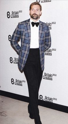 Formalwear - An elegant alternative to the White Dinner Jacket Mens Attire, Mens Suits, Mens Sport Coat, Sport Coats, Silver Shirt, Plaid Suit, Black Tie Affair, Looks Style, Men's Style