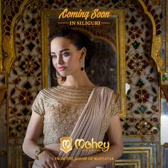 Namaskar Siliguri, soon there will be an explosion of handpicked Sarees, Suits, Gowns and Lehengas. Watch this space