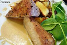 Bravčová panenka s cesnakovou omáčkou (fotorecept) - recept | Varecha.sk Potatoes, Vegetables, Food, Potato, Essen, Vegetable Recipes, Meals, Yemek, Veggies