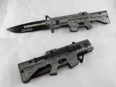 PERFECT KNIFE!  Trademark M4 Carbine Style Folding Pocket Knife | GeekAlerts