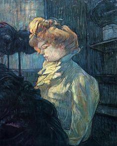 The Milliner by Henri de Toulouse-Lautrec, 1900