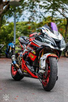 Ninja Bike, Best Photo Background, Air Fire, Zx 10r, Kawasaki Motorcycles, Sportbikes, Harley, Kawasaki Ninja, Motorcycle Bike