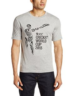 ICC CWC 2015 Logo T-Shirt, Men's Medium (Grey Marle) ICC CWC 2015 http://www.amazon.in/dp/B00NHM16XI/ref=cm_sw_r_pi_dp_PeR.ub188CGDR