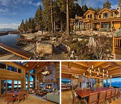 Larry Ellison's North Lake Tahoe home. He also owns almost the whole Hawaiian island of Lanai!The Real Estalker: March 2013