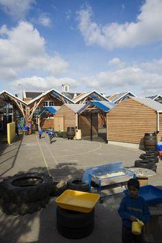 Westborough Primary School / Cottrell  Vermeulen Architecture