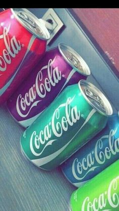 Coca-Cola - fl oz Cans Diva Nails diva nails in redford Rainbow Aesthetic, Aesthetic Food, Coca Cola Wallpaper, Coca Cola Can, Diva Nails, Rainbow Food, Cute Desserts, Weird Food, Starbucks Drinks