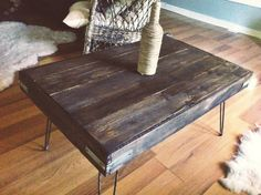 Hey, I found this really awesome Etsy listing at https://www.etsy.com/listing/152151587/industrial-stained-reclaimed-wood-coffee