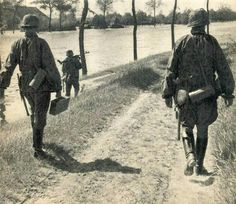 Waffen SS in West Holland 1940