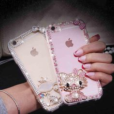 Bling Rhinestone ...  LIMITED TIME FREE SHIPPING 40% OFF http://bentusi.myshopify.com/products/bling-rhinestone-hello-kitty-phone-case?utm_campaign=social_autopilot&utm_source=pin&utm_medium=pin