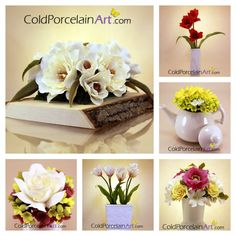 Mother's Day Gifts ideas by Cold Porcelain Art www.coldporcelainart.com