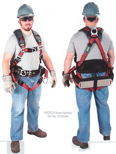 For comfort, ease of use, durability, and user safety, choose the EVOTECH Full Body Harness from MSA Fall Protection