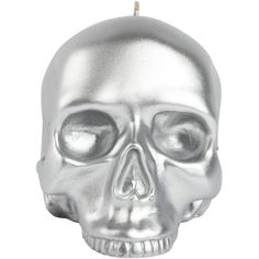 D.L. & Co. Skull Candle Silver
