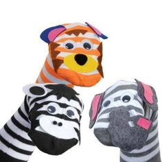 Make Your Own - Sock Puppet