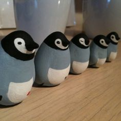Somewhere someone has his penguins all in a row...