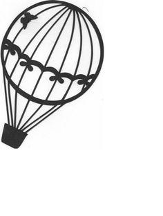 découpe montgolfière pour scrapbooking carterie.... : Embellissements par didine45