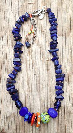 """Indigo"" Necklace by Toni McCarthy 2013"