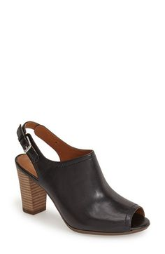 Clarks® 'Shira' Leather Sandal (Women) available at #Nordstrom