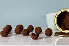 Tarjeta d embarque: Trufas de chocolate, pistacho y azafran {Veganas}