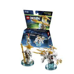 LEGO Dimensions packs: 71234 - Ninjago Sensei Wu Fun Pack #lego #LegoDimensions #videogames #videogame