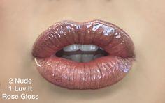 Lips with LipSense  Makeup