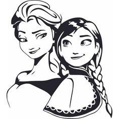 Frozen Disney, Disney Png, Frozen Film, Anna Disney, Frozen Cake, Anna Und Elsa, Frozen Elsa And Anna, Frozen Silhouette, Disney Silhouette Art