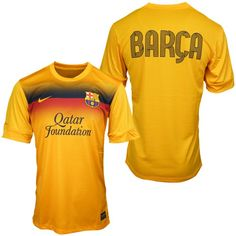 2013 wholesale Barcelona Yellow Training Jersey Shirt