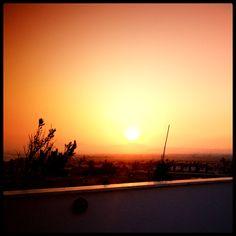 sunset, Salt Lake, Larnaca Cyprus by jo bagley, via Flickr