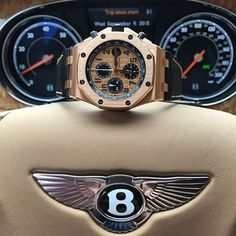 """Nice Cars accessories 2017: Time Millionaire on Instagram: """"Audemars Piguet on the throne  #watch #watchporn #bentley #audemarspiguet #ap #gold #supercar #money #millionaire #billionaire #dreambig…""""  Watch Dis Check more at http://autoboard.pro/2017/2017/04/11/cars-accessories-2017-time-millionaire-on-instagram-audemars-piguet-on-the-throne-watch-watchporn-bentley-audemarspiguet-ap-gold-supercar-money-millionaire-billionaire-dreambig/"""