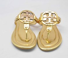 Tory Burch Gold Miller 2 Sandal for Slae Tory Burch Outlet, Tory Burch Sandals, Miller Sandal, Fashion Shoes, Gold, Shopping, Women, Funny, Funny Parenting