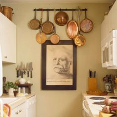 Ways to organize kitchen