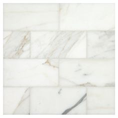 "NATURAL STONE MARBLE TILE - Calacatta Gold Honed Finish Subway Tile 3"" x 6"". The elegance of natural stone combined with the perfect proportion of the 3 x 6 Subway Tile format makes this exciting new series so wonderful to design with.  Complete Tile Collection MI#: 065-MH-102-172 #MarbleTile #CalacattaMarble"