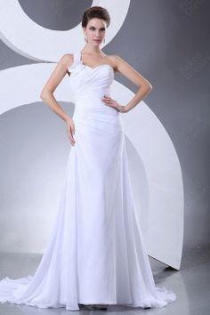#White Ruffles #Wedding Dress