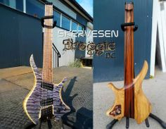 "FOR SALE! First ever Skervesen Shoggie Doublecut PROTO. 7-string, 25,5-27"" scale, only 2050 EUR!"