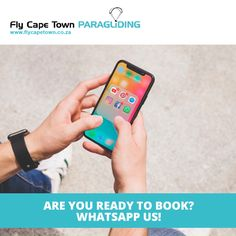 Fly Cape Town Paragliding offers tandem paragliding flights in and around Cape Town, contact us today to make your booking! Paragliding, Cape Town, How To Get, Happy, Ser Feliz, Being Happy