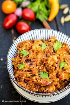 APERITIVE SI GUSTARI DE POST | Diva in bucatarie Fall Recipes, Indian Food Recipes, Vegan Recipes, Ethnic Recipes, Tasty, Yummy Food, Garam Masala, Main Dishes, Curry