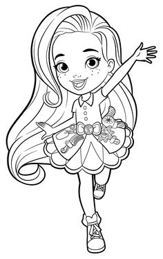 dazzle coloring pages for children - photo#9